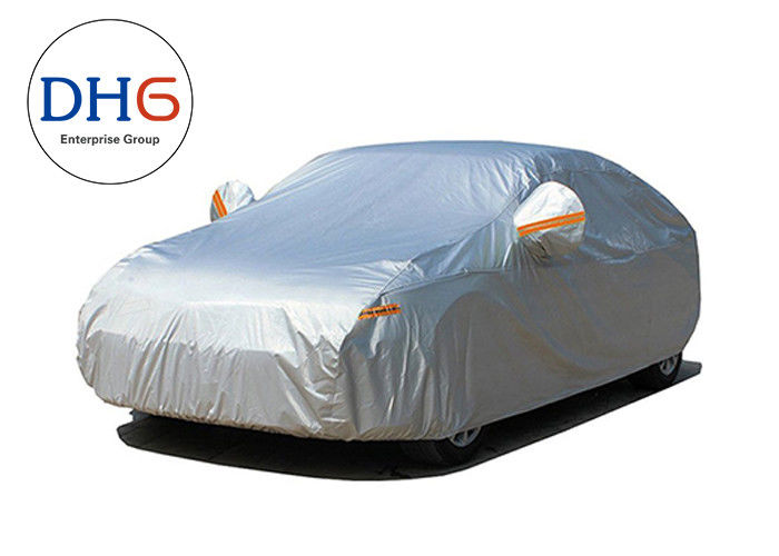 Soft Cloth Waterproof Outdoor Car Cover Rain Protection Polyester Non PP Cotton