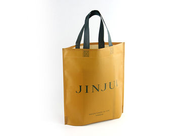 Cina Ultrasonic Recyclable Personalized Non Woven Tote Bags 80gsm Dengan Logo Kustom pabrik